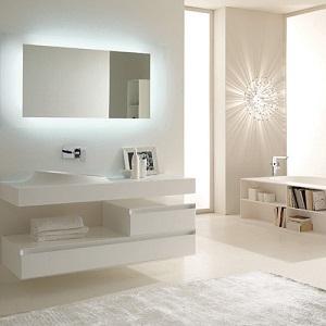 Per i bagni molto piccoli è ottimo anche il color avorio che può ...