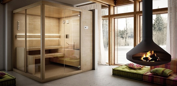 I benefici apportati dalla sauna