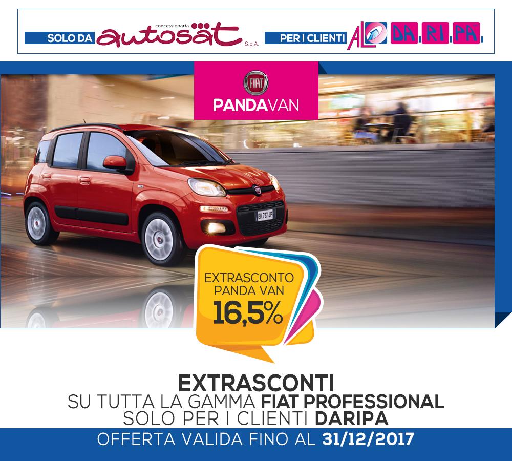 promozione daripa autosat panda van 2017