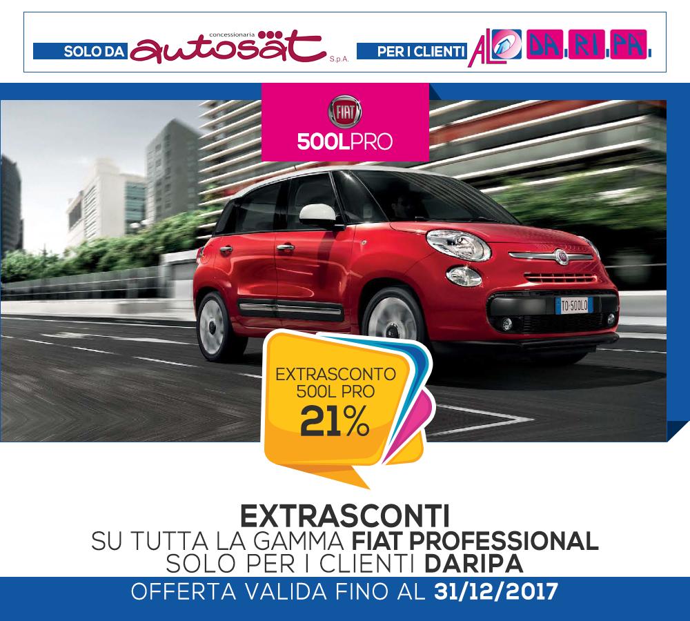 promozione daripa autosat 500l pro 2017