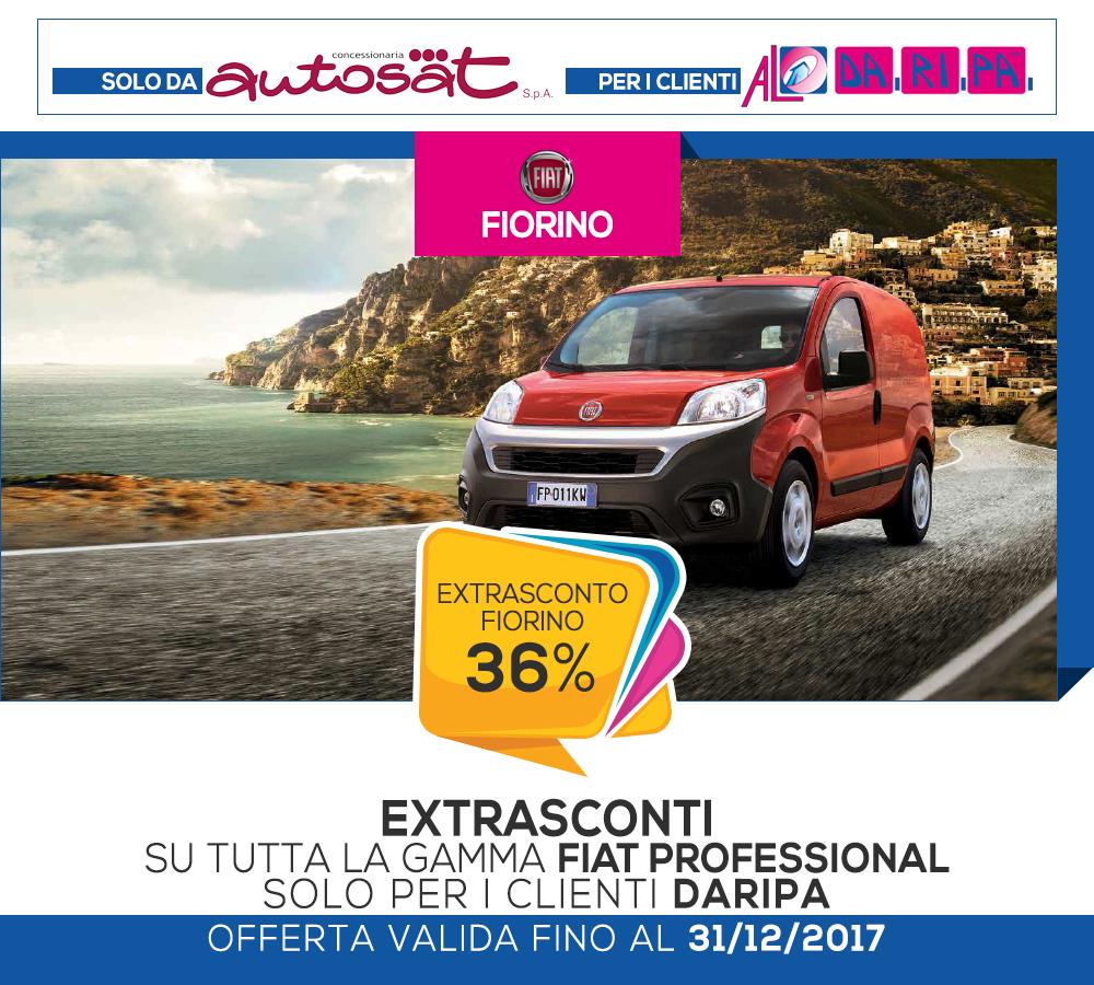 promozione daripa autosat fiorino 2017