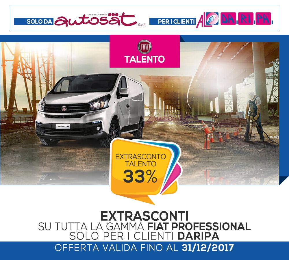 promozione daripa autosat talento 2017