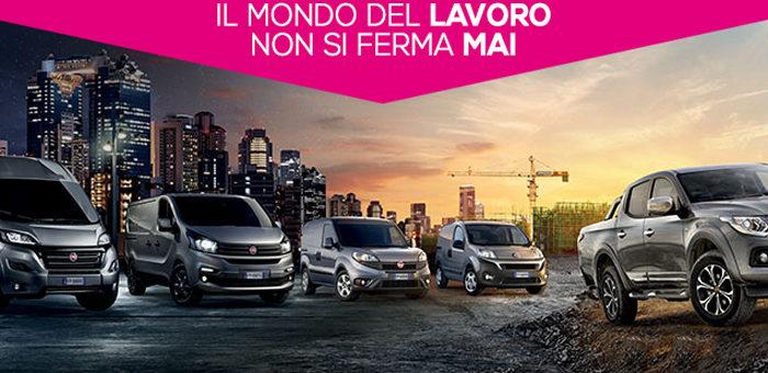 Convenzione Fiat Professional sconti fino al 38% per tutto il 2017