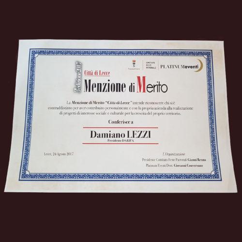 Premiazione Daripa