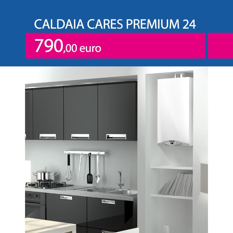 caldaia ariston cares premium 24