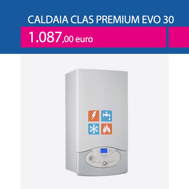 caldaia ariston clas one premium evo 30