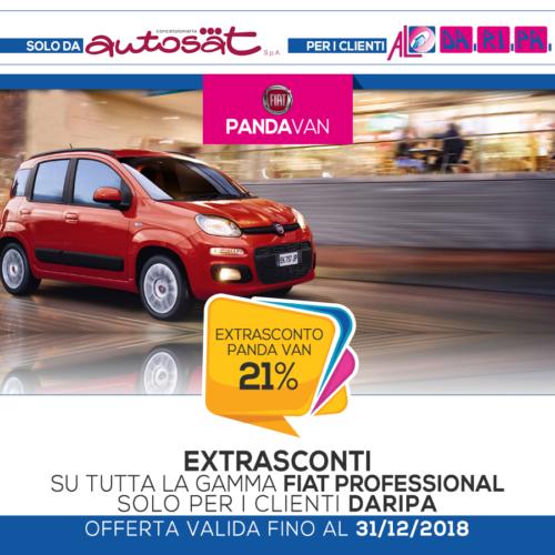 promozione Daripa Fiat Panda Van