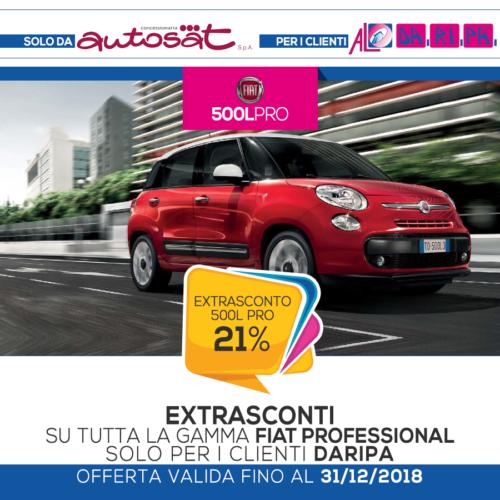 promozione Daripa Fiat 500L