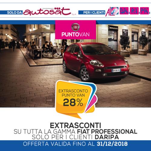 promozione Daripa Fiat Punto van