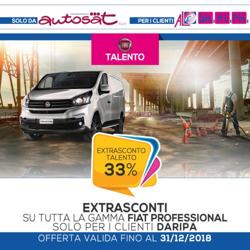 promozione Daripa Fiat Talento