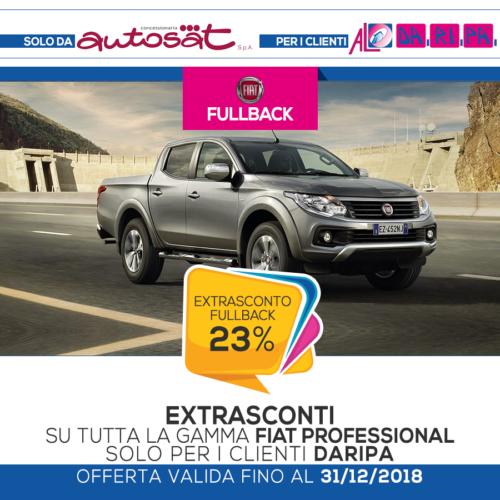 promozione Daripa Fiat Fullback