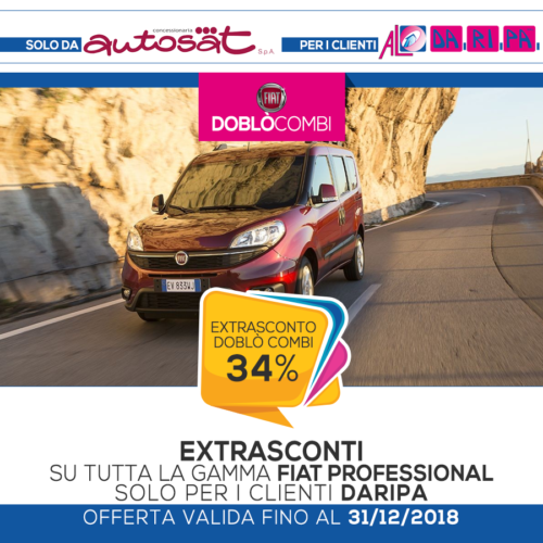promozione Daripa Fiat Doblò Combi