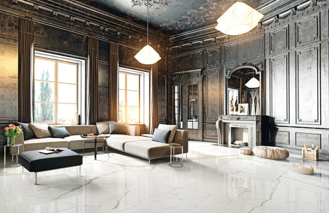 Ariostea pavimenti e rivestimenti in gres porcellanato effetto marmo daripa lecce