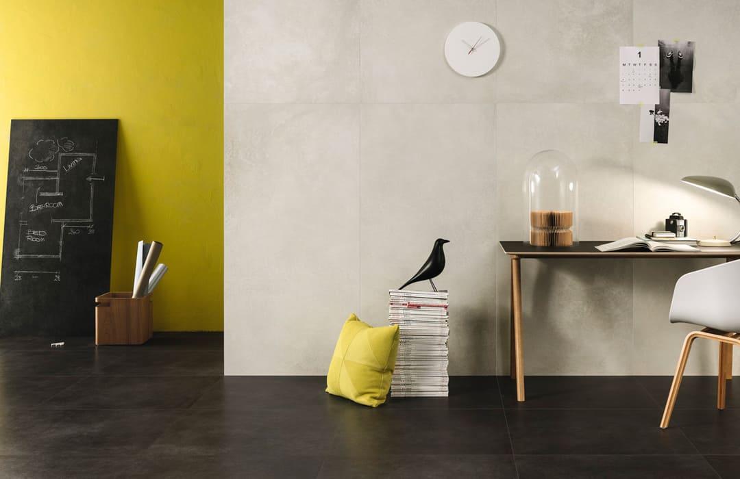 ariostea pavimento gres porcellanato effetto cemento daripa lecce