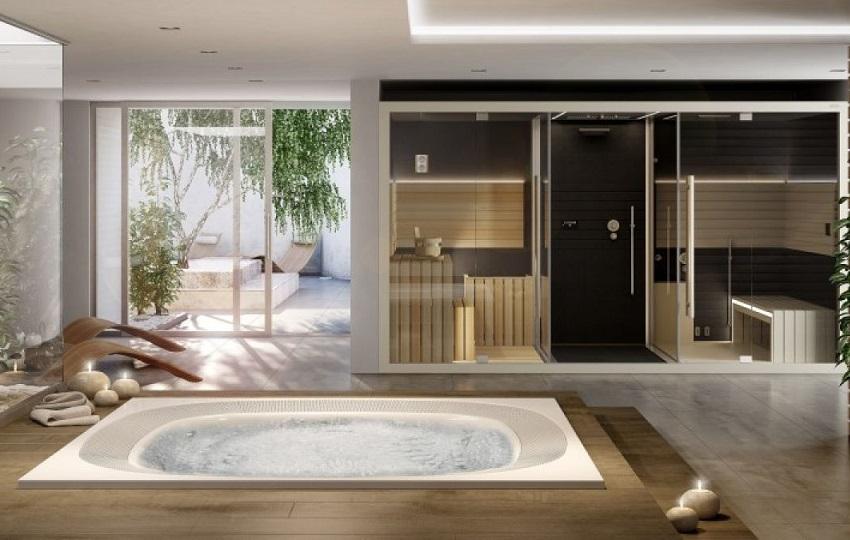 trasformare il bagno in una SPA-Jacuzzi